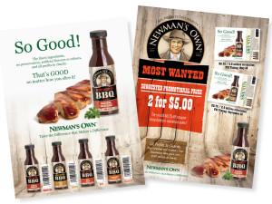 Food Sales Sheet Design