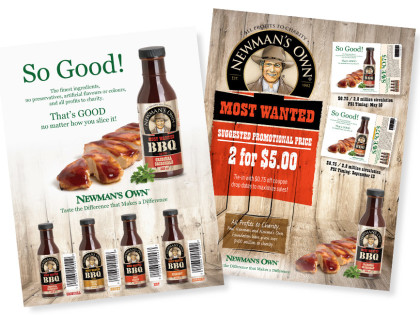 Food Sales Sheet Design