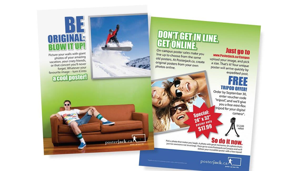 Postger design for Posterjack.ca