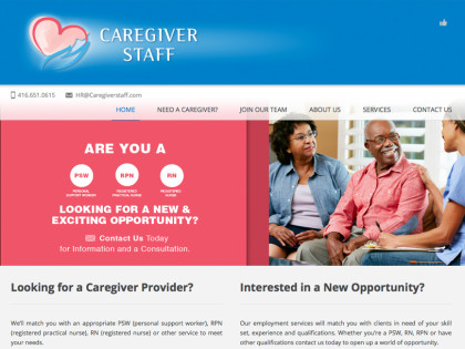 Staffing Website Design