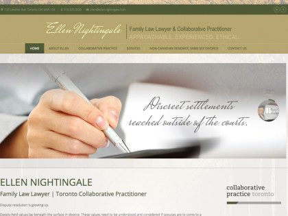 Family Lawyer Website Design