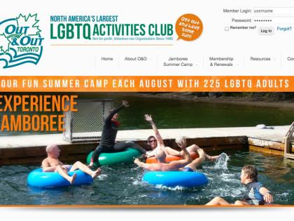 Club Website Design