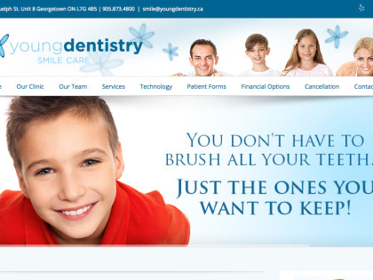 Dentistry Website Design