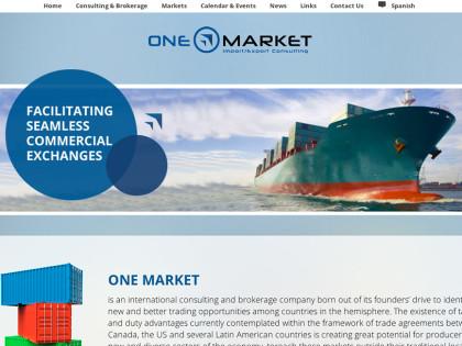 Import/Export Business Website Design