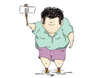 Cartoon man 2