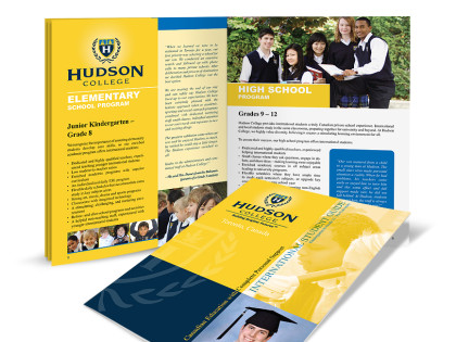 Private School Brochure Design