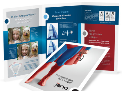 Optical Brochure Design
