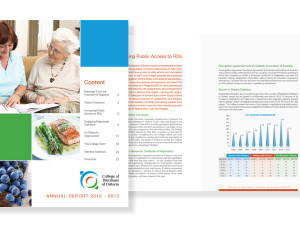 Annual Report Design with Photos