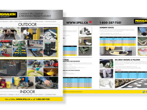 Industrial Products Catalogue Design