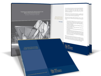 Financial Brochure Design