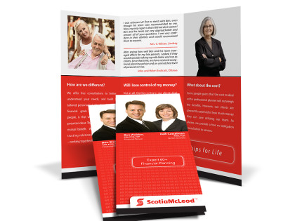 ScotiaMcleod Brochure Design