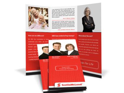 ScotiaMcleod Brochure Design