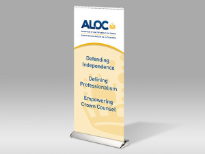 Retractable Banners for ALOC