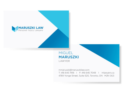 Business cards toronto business card printing maruszki law reheart Choice Image