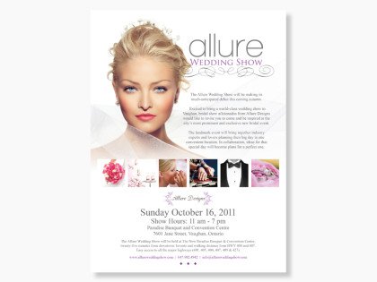 Allure Wedding Show ad
