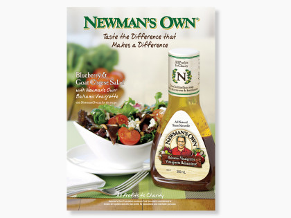 Newman's Own Magazine Ad