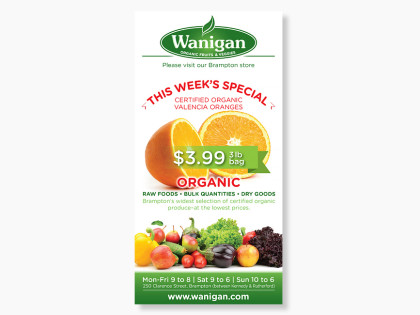 Wanigan Weekly Specials