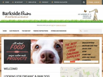 Pet Food Ecommerce Website Design