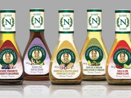Newmans Own Dressings