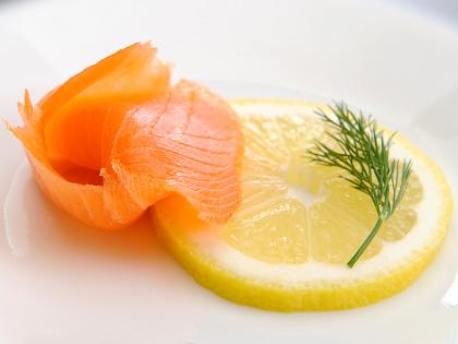 Salmon & Lime