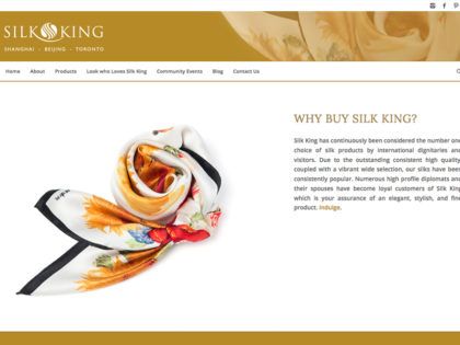 Silk King