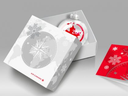 Air Canada Gift Box