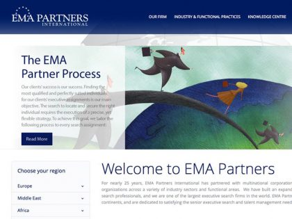 EMA Partners Website