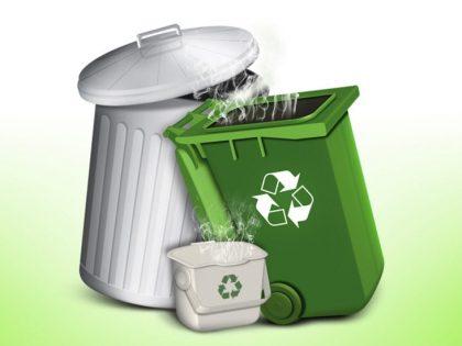 Recycle Bins Illustration
