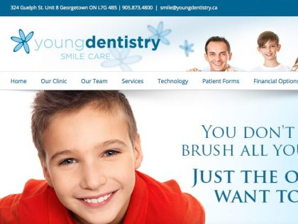 Young Dentistry Website