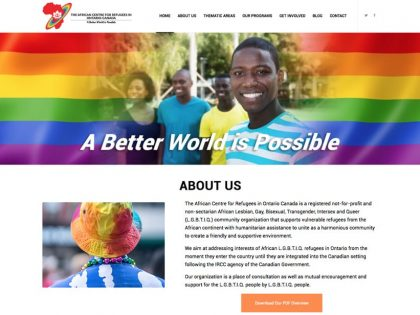 African Centre For Refugees in Ontario-Canada